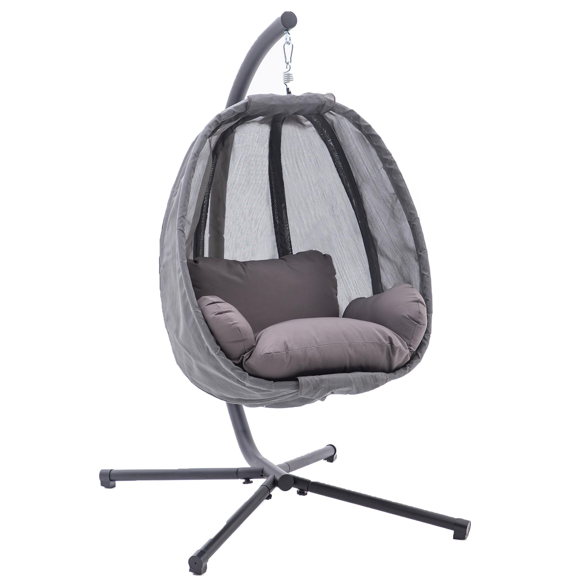 mcombo h ngesessel h ngestuhl schaukel korb inkl gestell. Black Bedroom Furniture Sets. Home Design Ideas