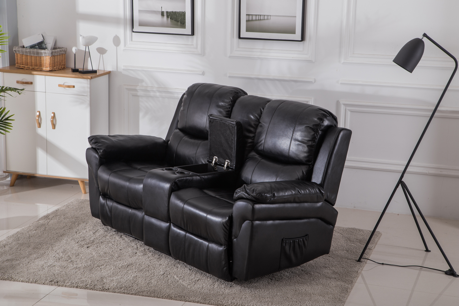 mcombo kinosessel fernsehsessel relaxsessel 2 sitzer heimkino cinema sessel sofa ebay. Black Bedroom Furniture Sets. Home Design Ideas