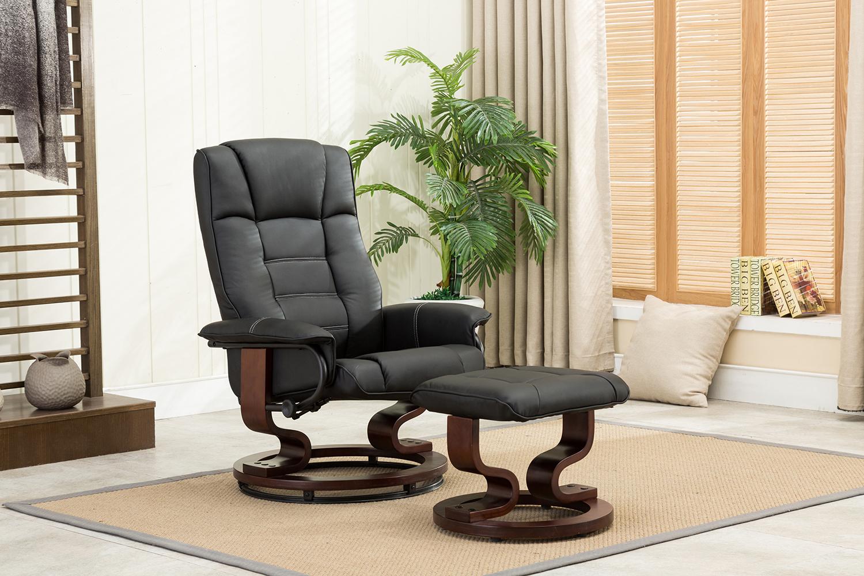 mcombo relaxsessel fernsehsessel tv sessel kippbar mit hocker holzf e ebay. Black Bedroom Furniture Sets. Home Design Ideas