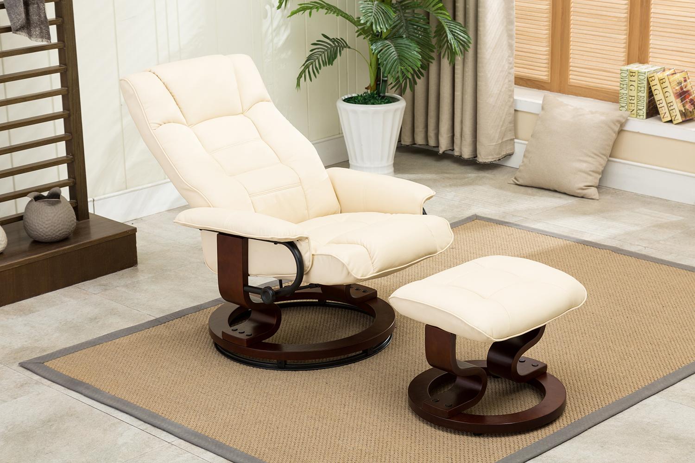 mcombo sessel relaxsessel liegestuhl modern lounge stuhl pu leder edelstahl ebay. Black Bedroom Furniture Sets. Home Design Ideas