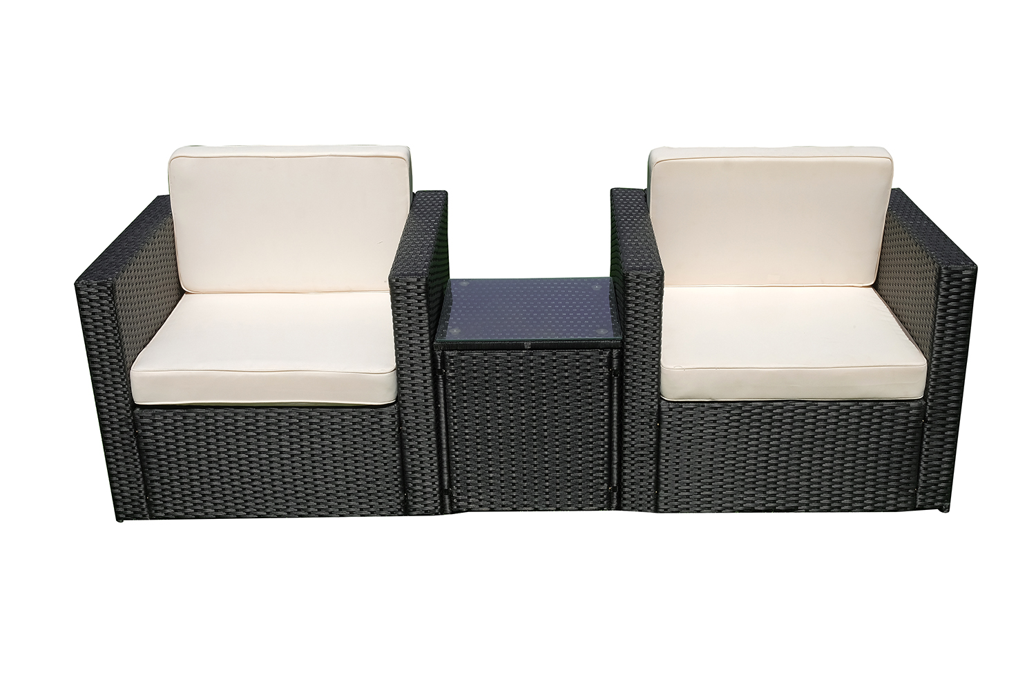 mcombo 7tlg poly rattan gartenm bel sitzgarnitur. Black Bedroom Furniture Sets. Home Design Ideas