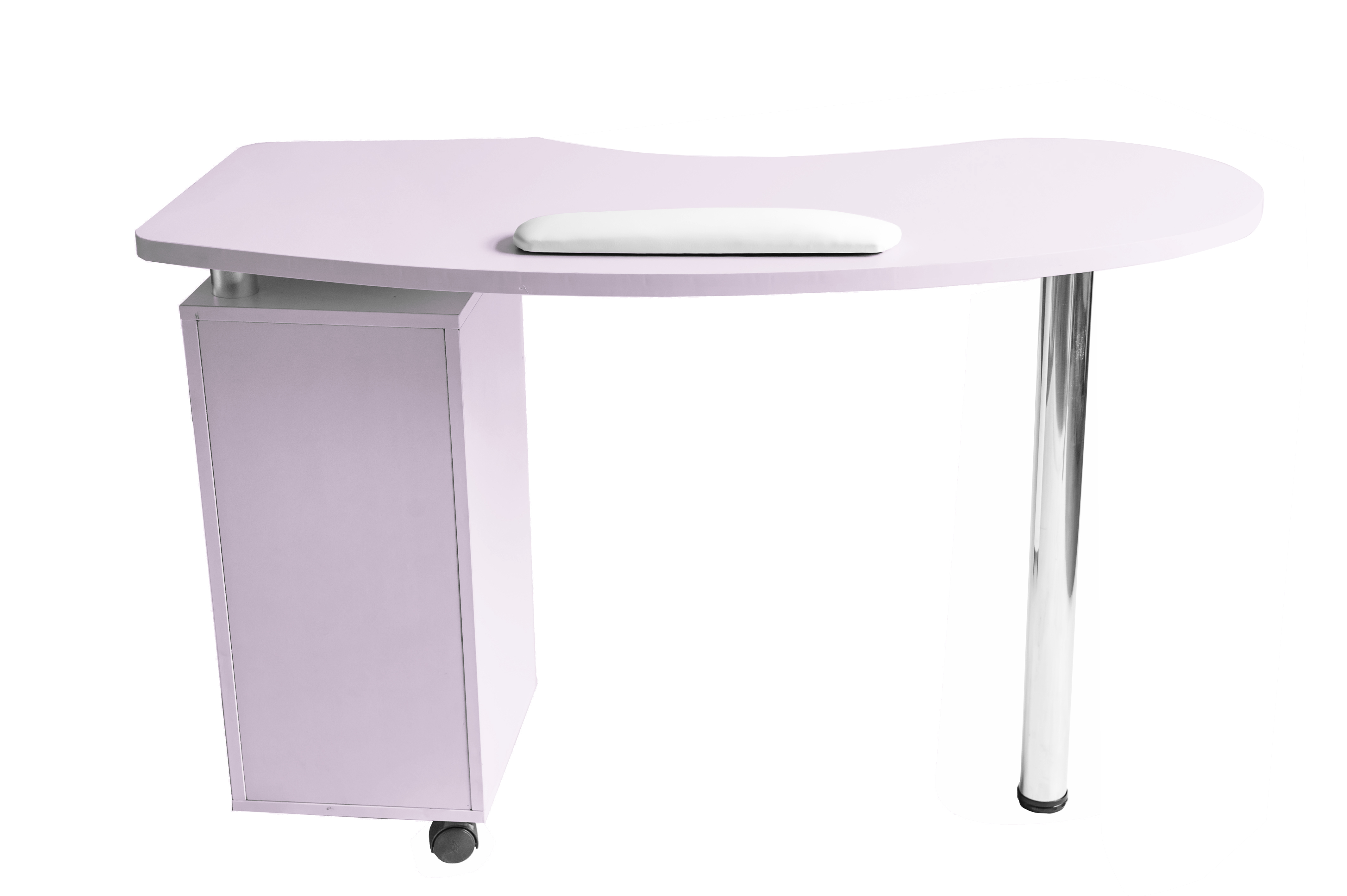 Barberpub purple manicure nail table station spa salon for Beauty on table