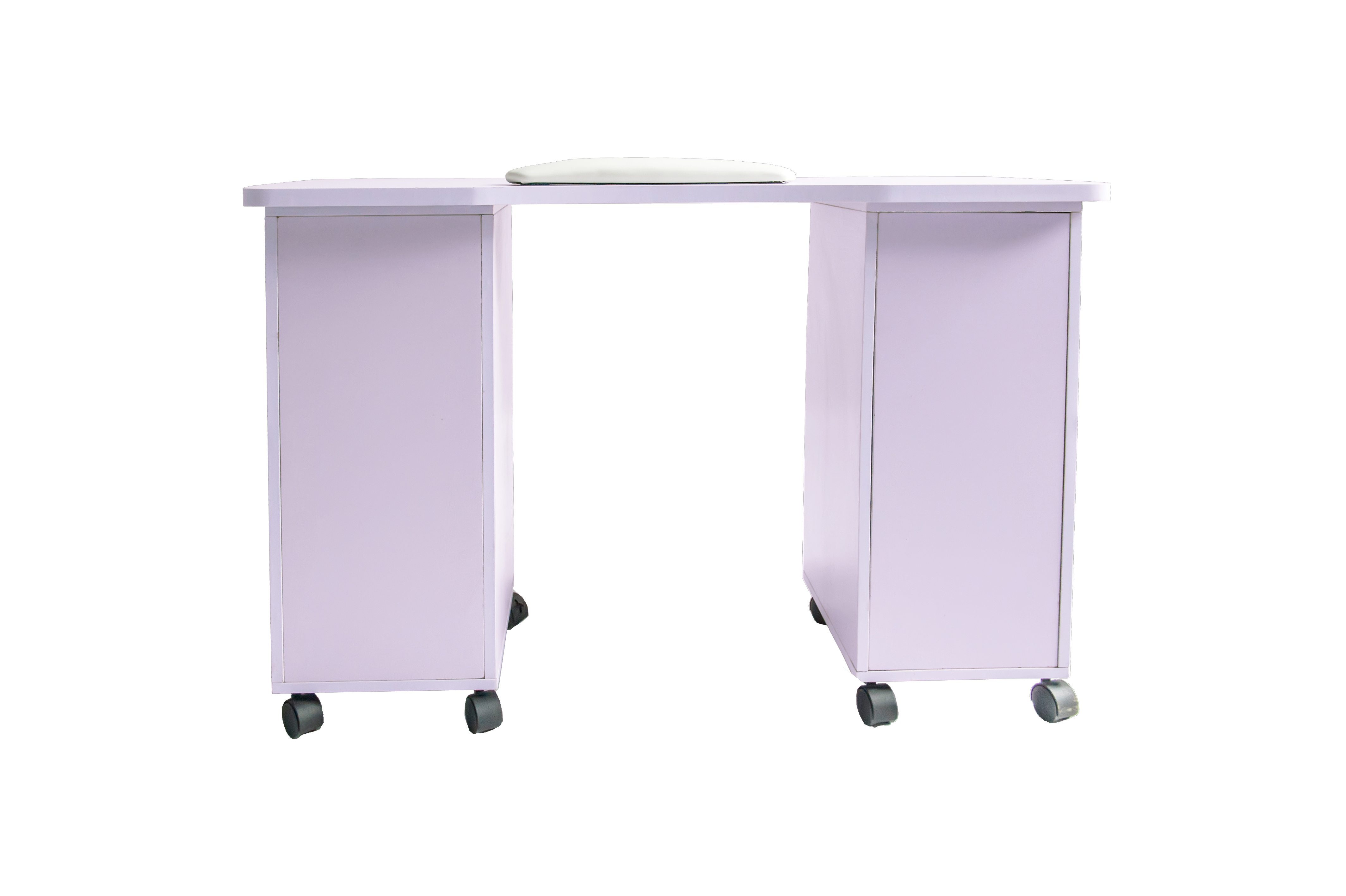 Barberpub purple manicure nail table station spa salon for A and m salon equipment