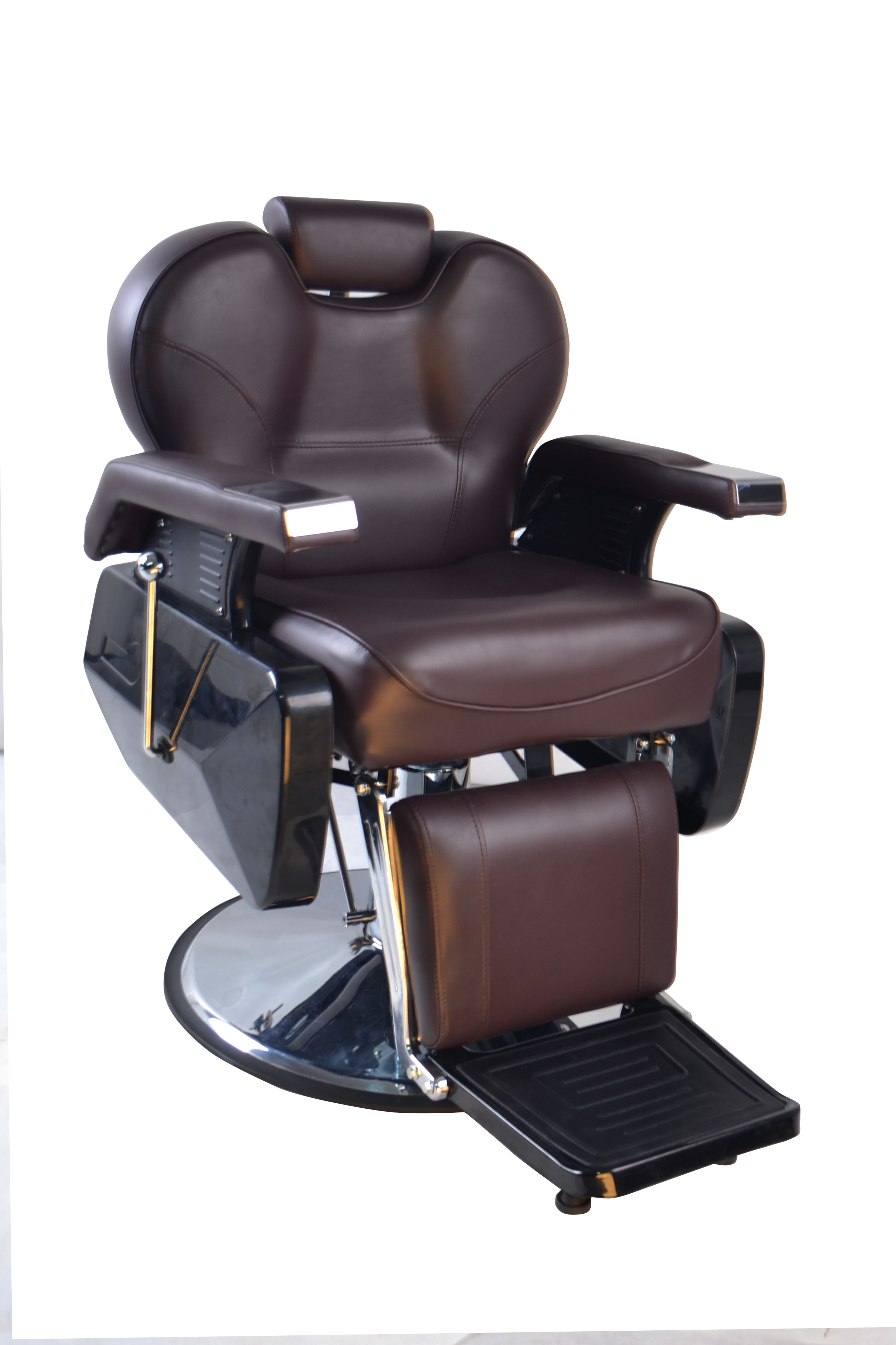 Barberpub Five Purpose Hydraulic Salon Beauty Spa Shampoo Barber Chair 8702brown Ebay