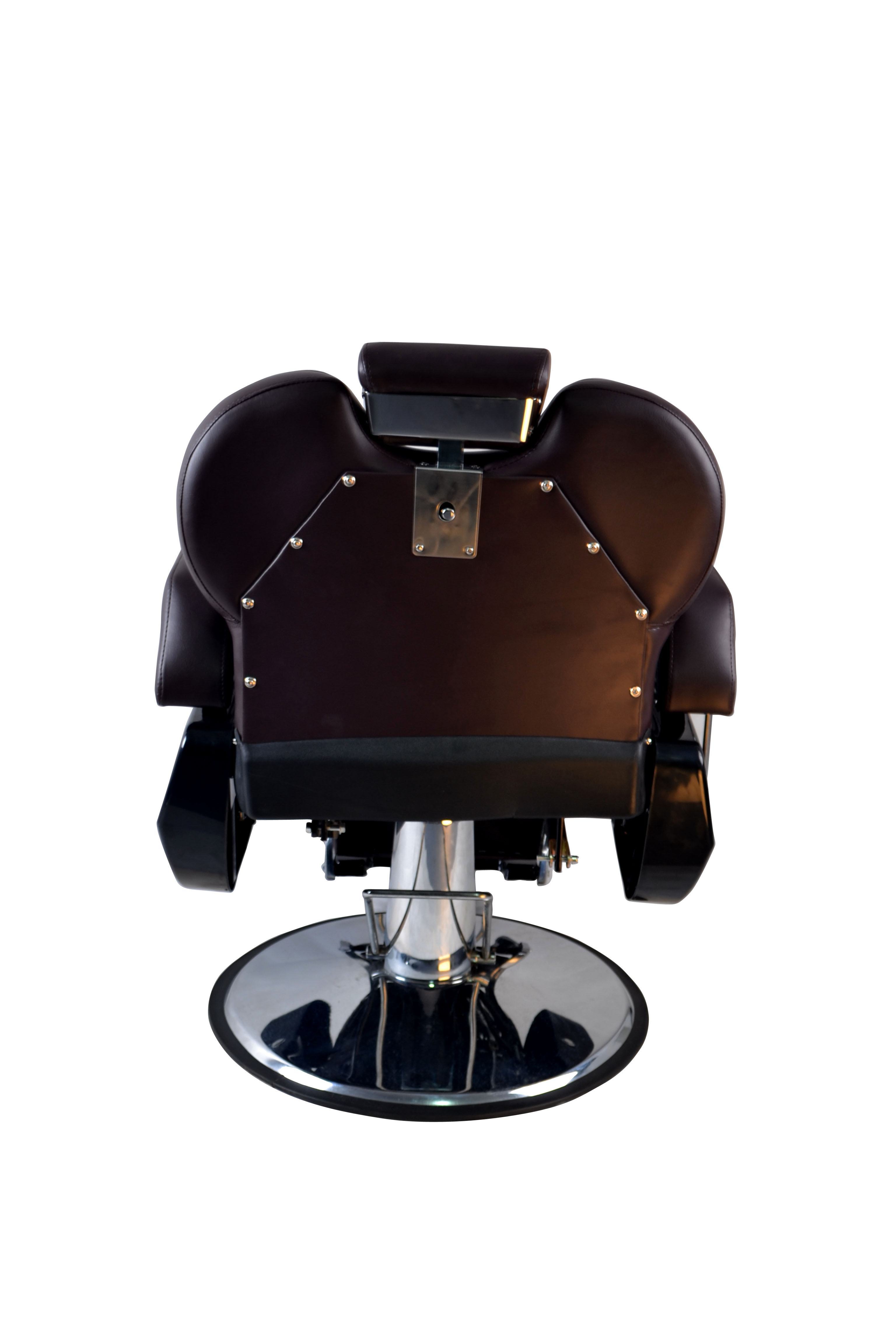 BarberPub All Purpose Hydraulic Recline Barber Chair Salon Beauty Spa 8702 Brown 15