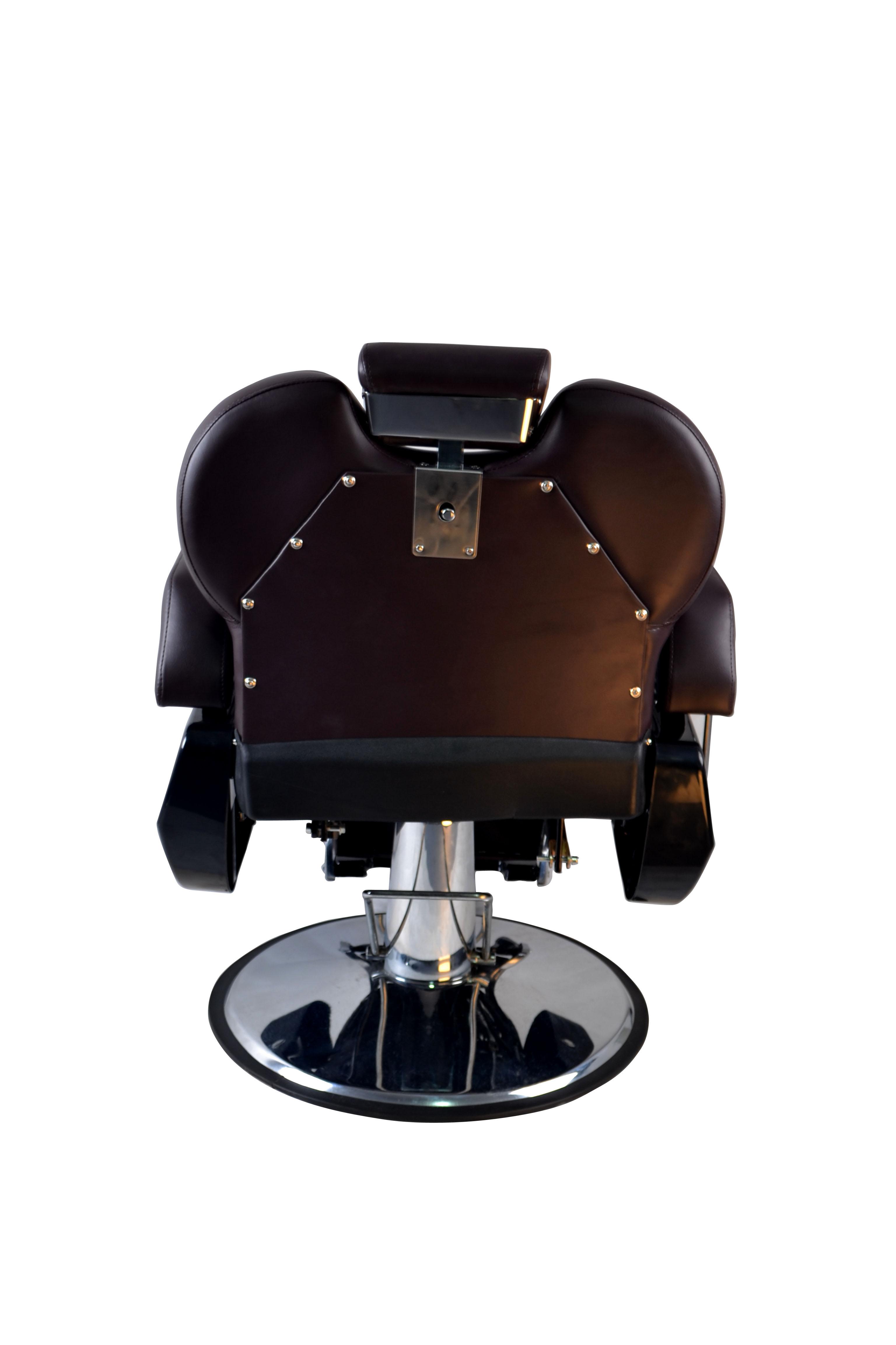 BarberPub All Purpose Hydraulic Recline Barber Chair Salon Beauty Spa 8702 Brown 15