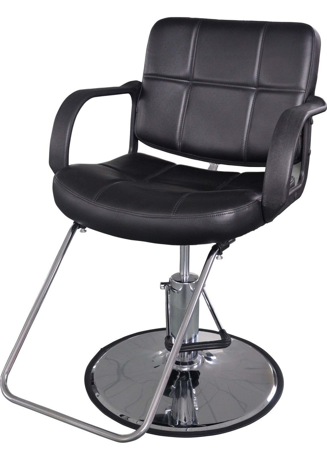 Barberpub classic hydraulic barber chair salon beauty spa for Hydraulic chairs beauty salon