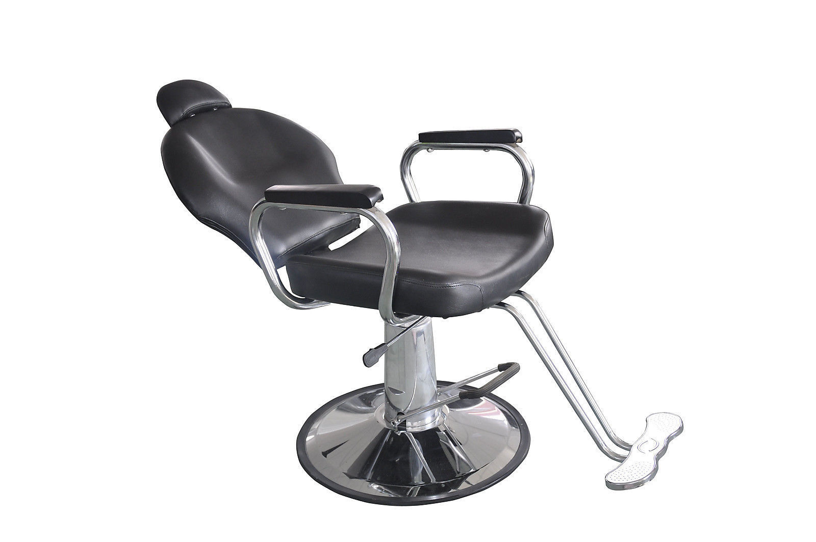 Used reclining hydraulic barber chair salon styling for Used salon chairs