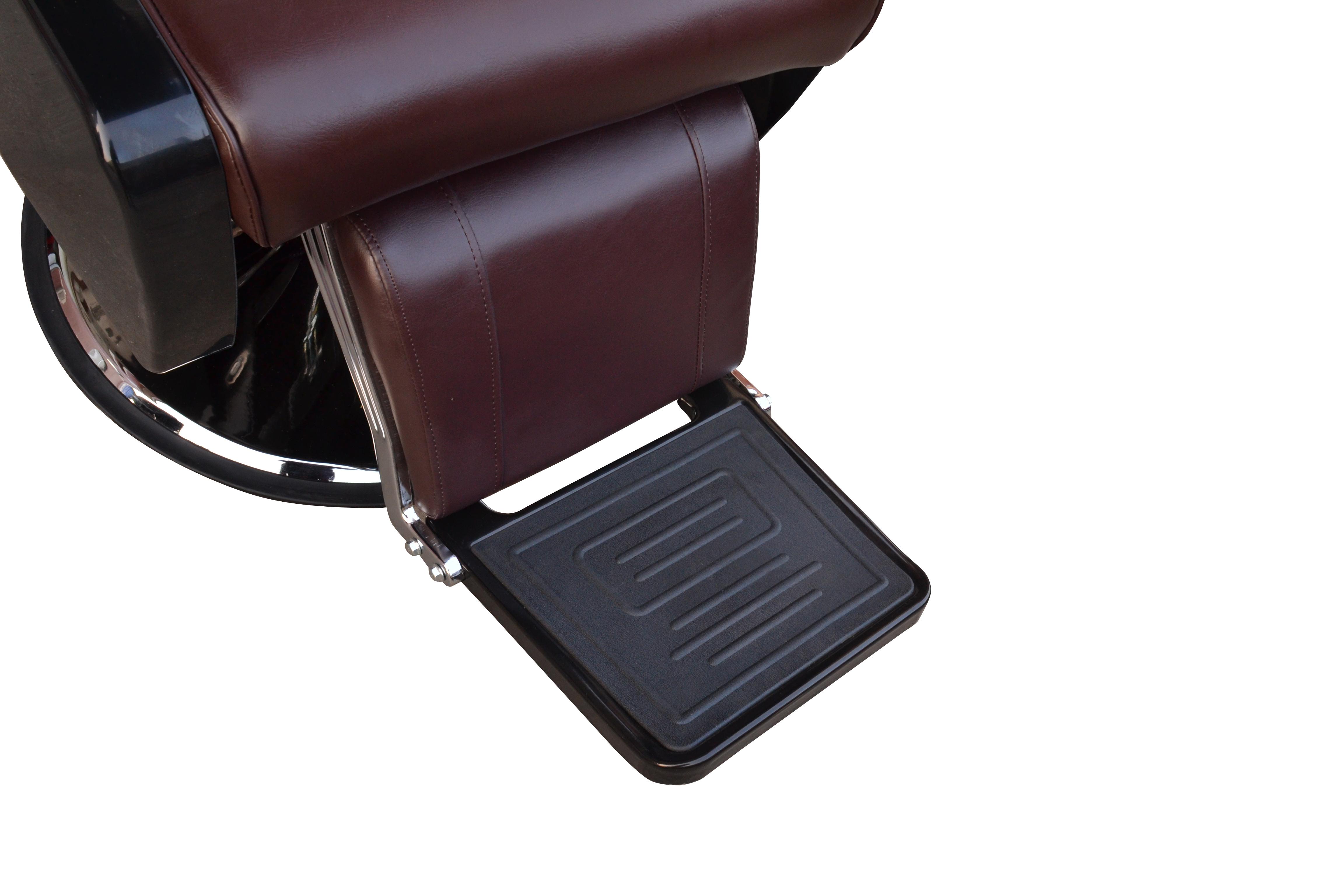 BarberPub All Purpose Hydraulic Recline Barber Chair Salon Beauty Spa 8702 Brown 16