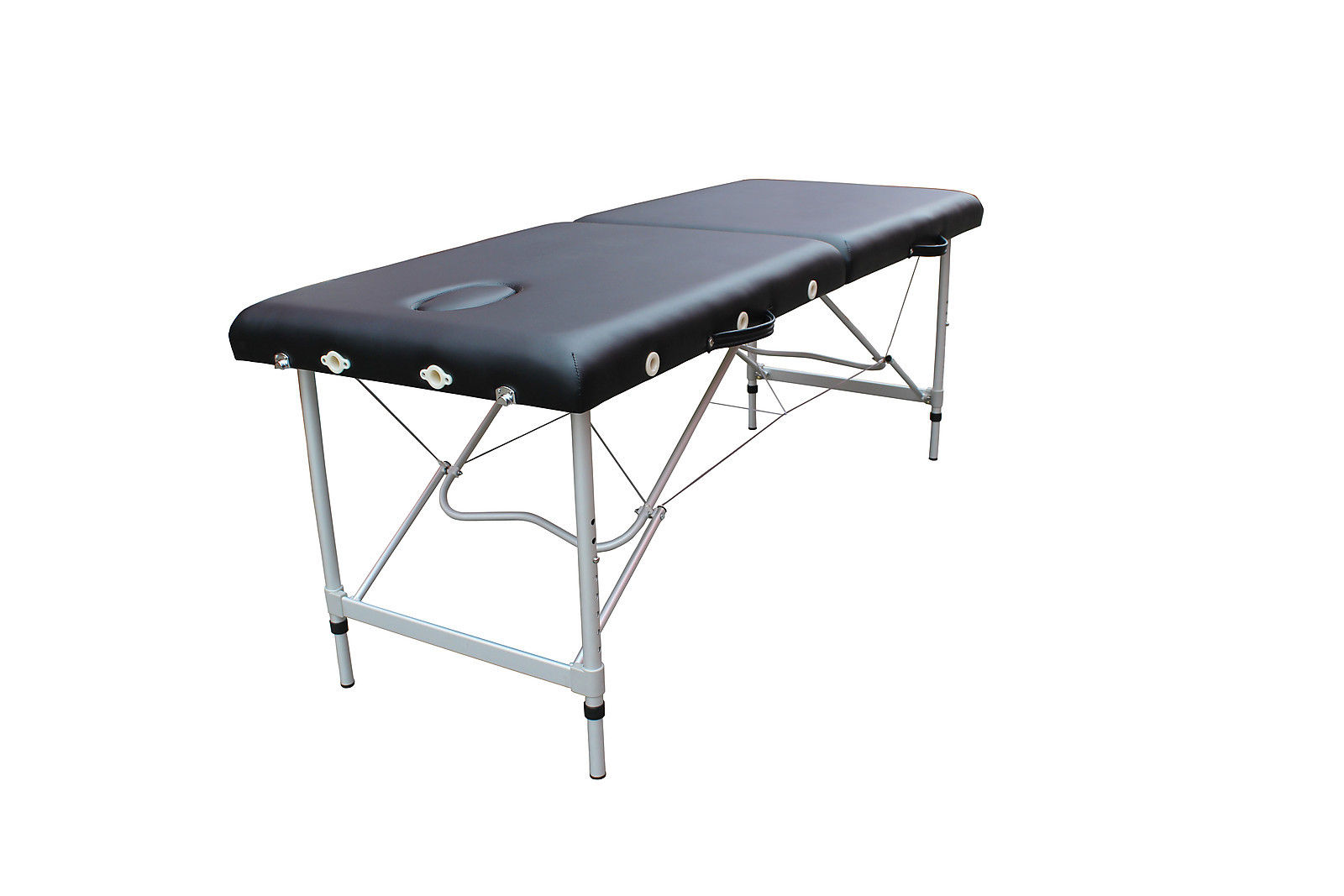 Mcombo aluminum portable massage table bed spa w carrying case 6150 al22bk ebay - How much is a massage table ...
