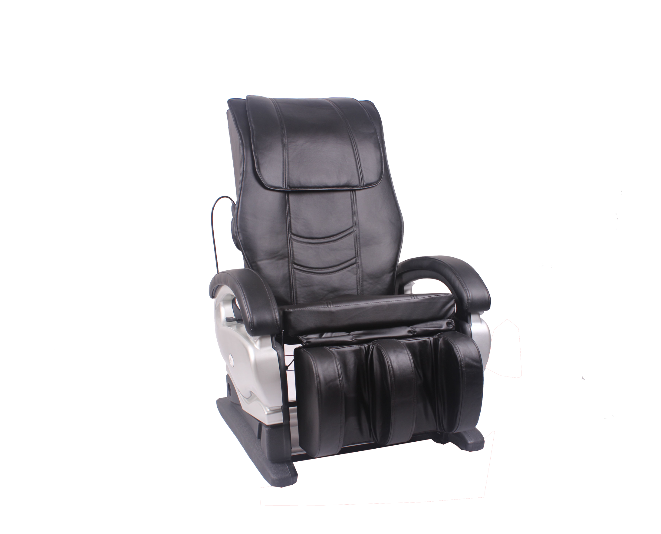 M bo Electric Full Body Shiatsu PU Leather Massage Chair