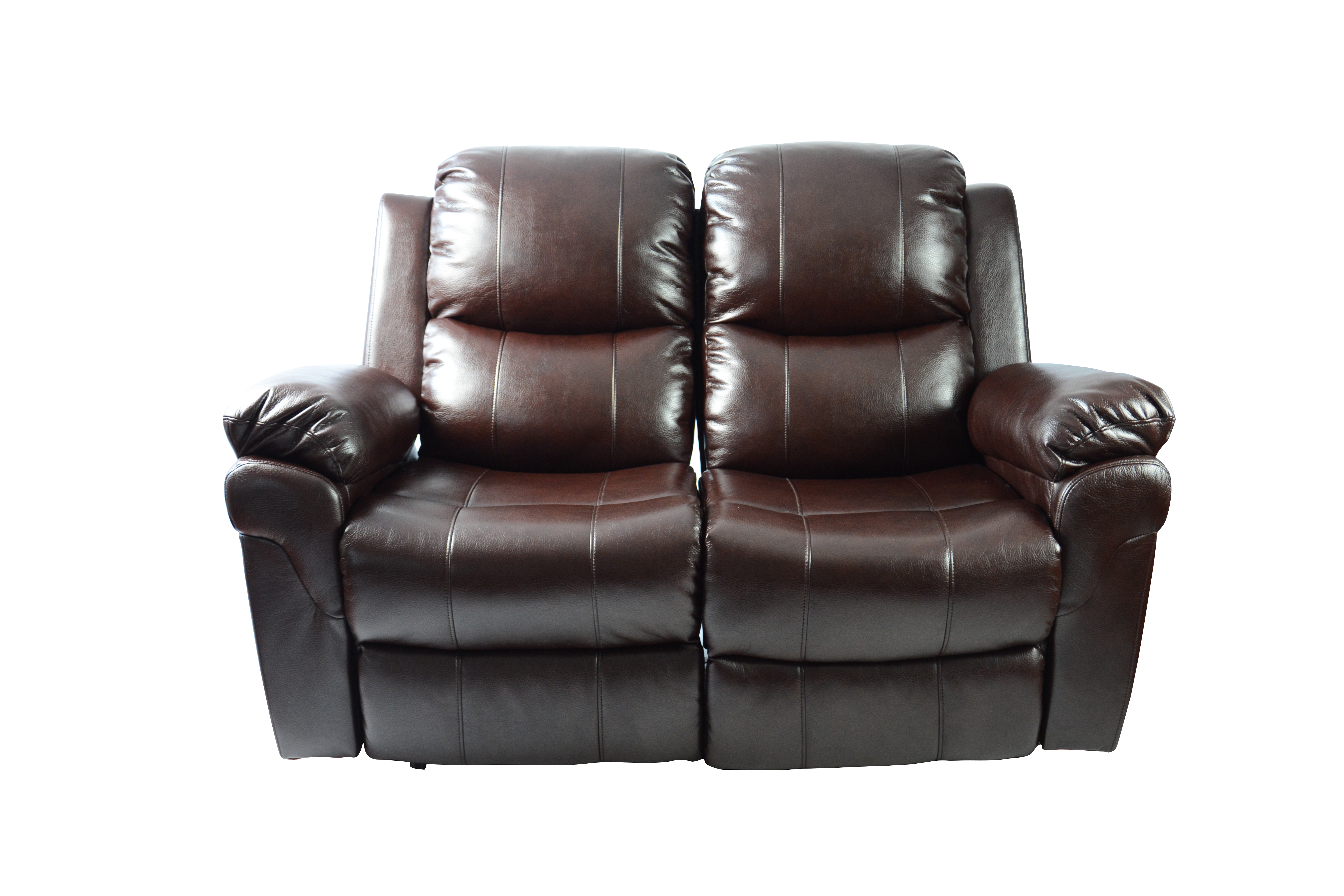 combination seat leather home theater recliner media sofa w
