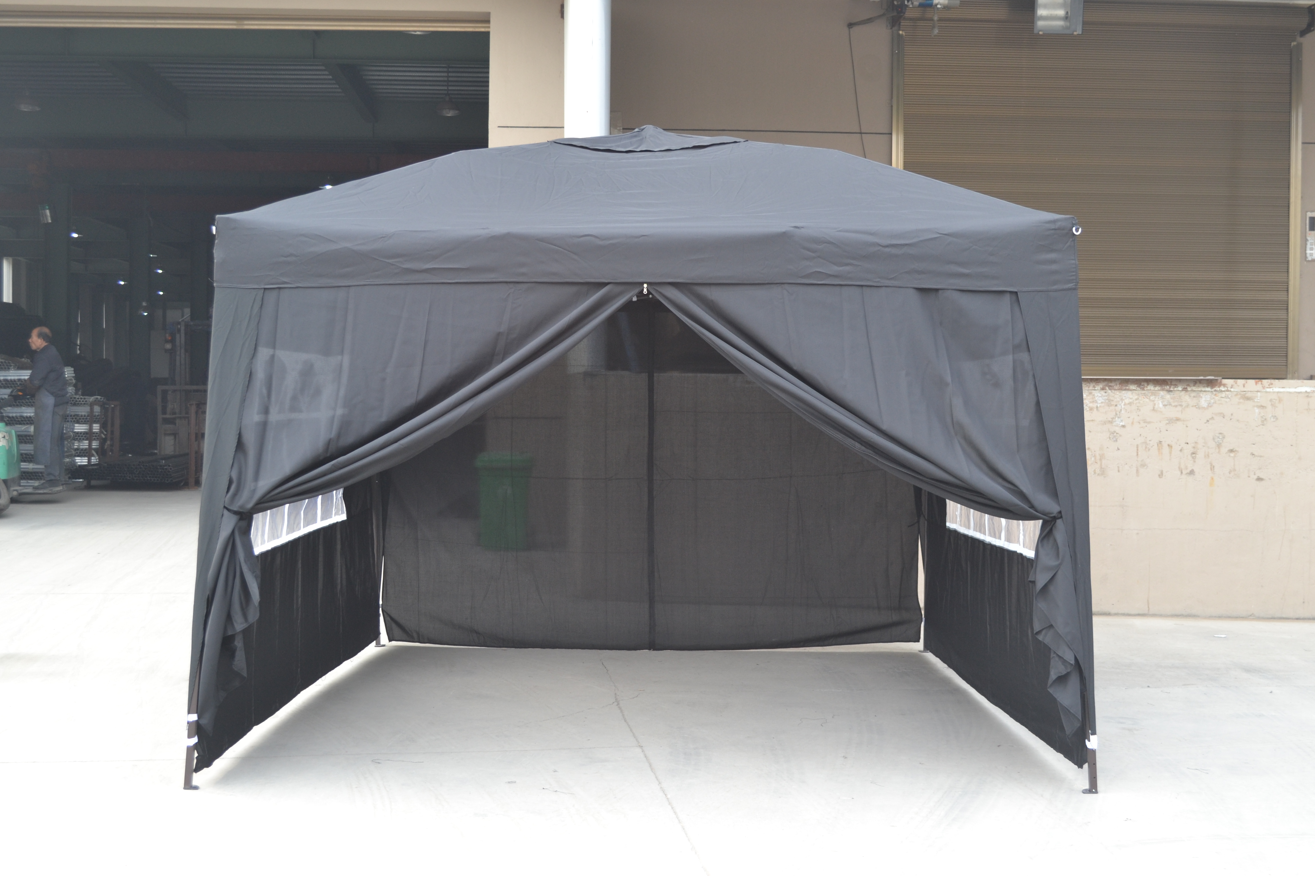 10x10 Ez Pop Up 4 Walls Canopy Party Tent Gazebo With