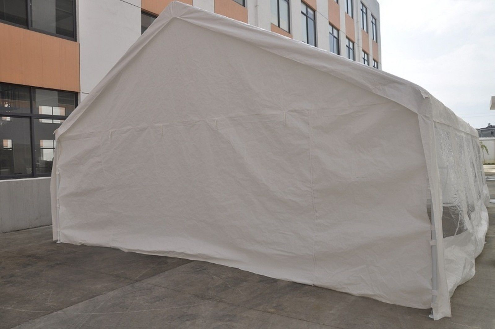 Heavy Duty Tents And Shelters : New white heavy duty carport party tent canopy car