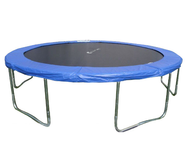 New 14ft Trampoline Combo Bounce Jump Safety Enclosure Net: ExacMe 14FT Trampoline Combo Safety Pad Enclosure Net W